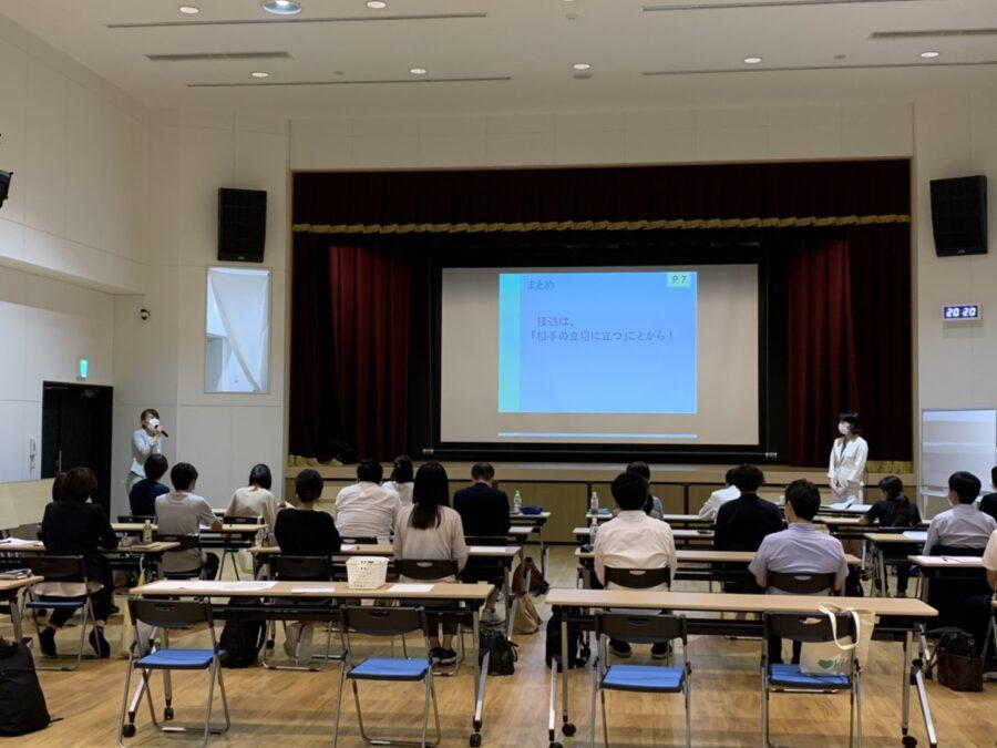 喜楽苑・けま喜楽苑合同 接遇マナー研修を開催しました