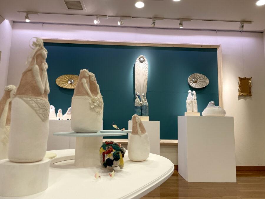 和田誠之・濵久仁子展「月と海と唄と」
